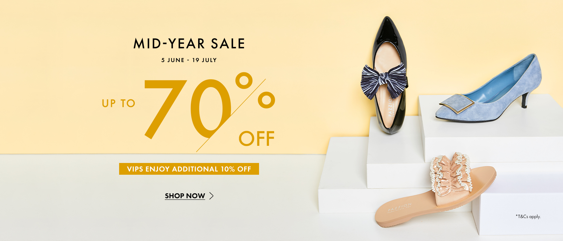 PAZZION Mid Year Sale 2020