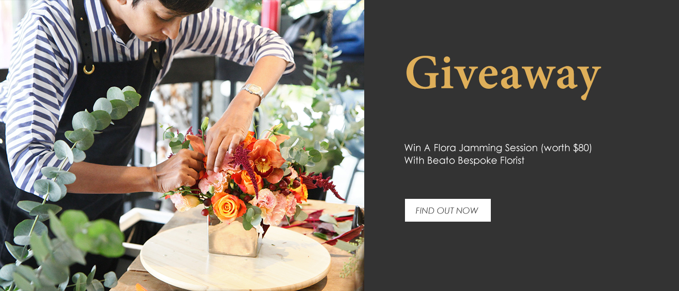 PAZZION X Beato Florist Giveaway