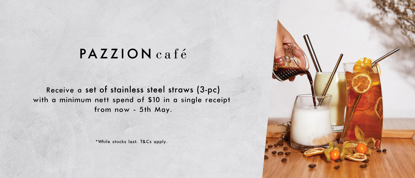 PAZZION Cafe Gift with Purchase