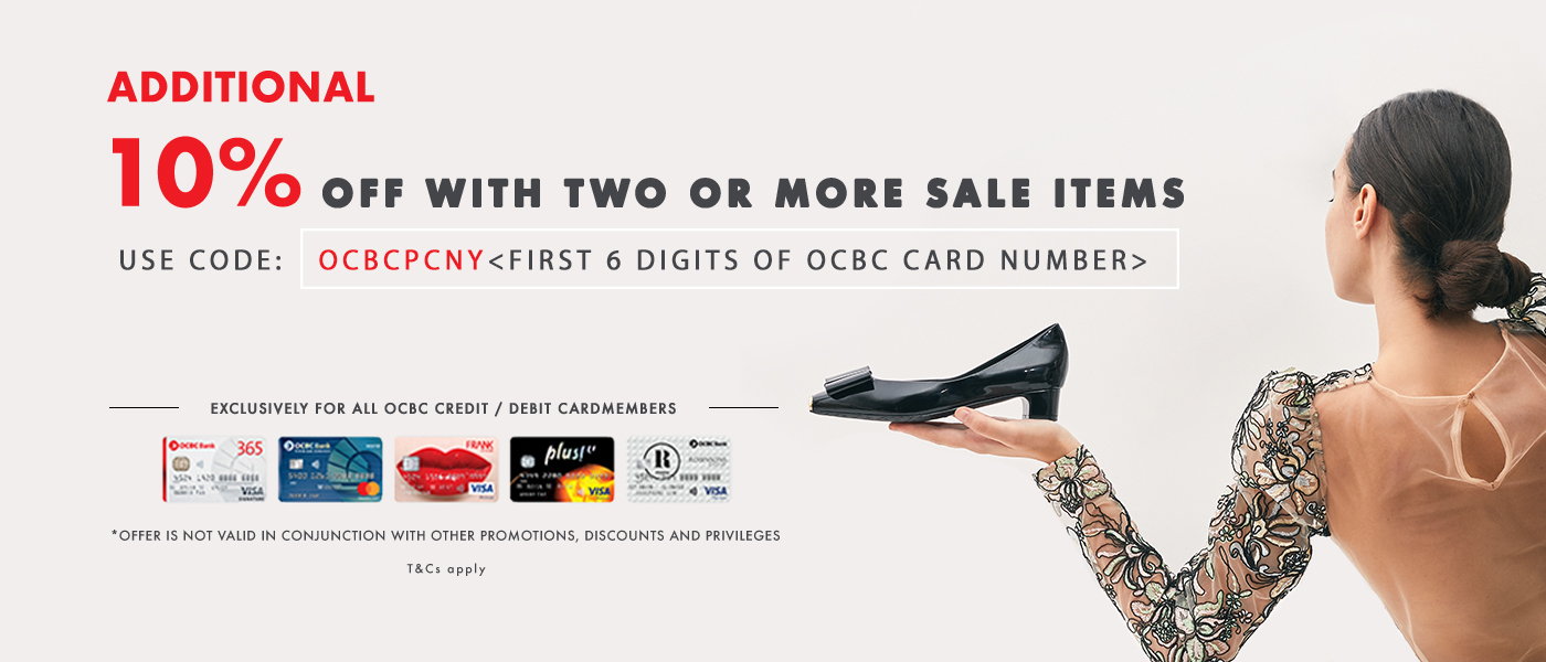 PAZZION x OCBC Bank Post CNY Sale Special