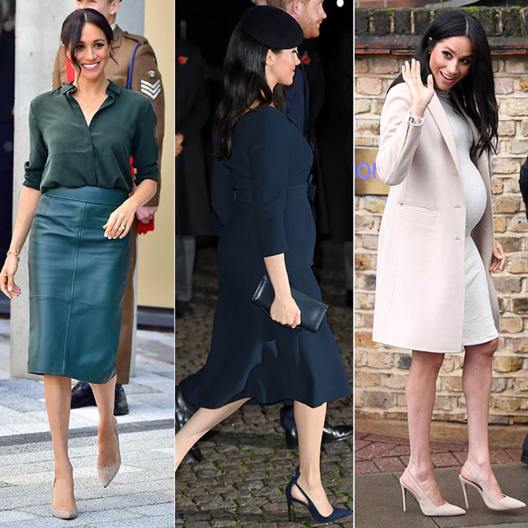 MEGHAN MARKLE - MATERNITY FASHION