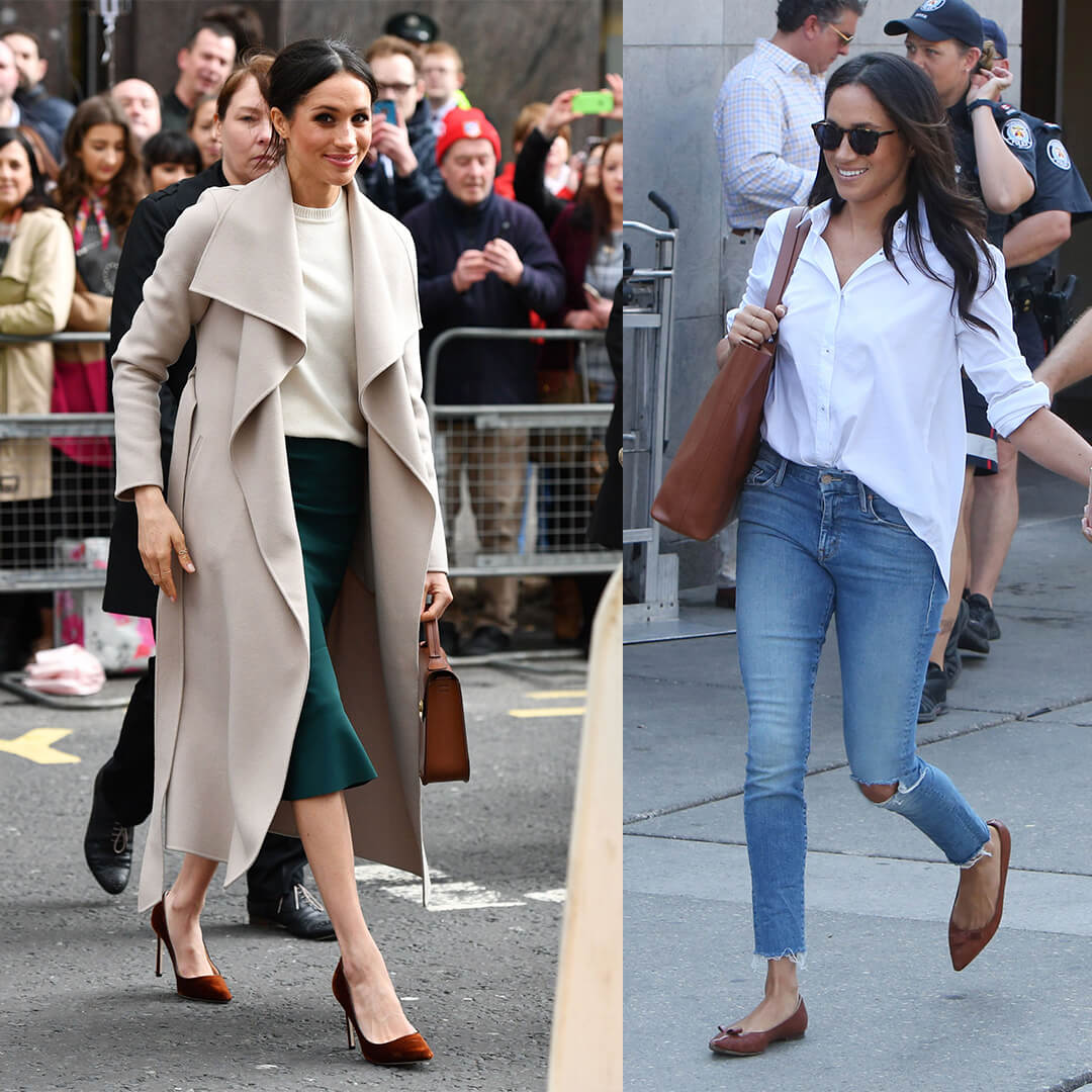 ROYAL SHOE FAVOURITES FROM MEGHAN MARKLE