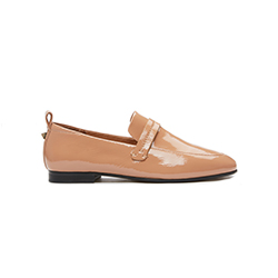 7047-32 Nude Covered Flats