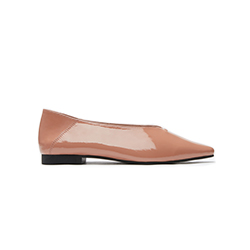898-5 Pink Covered Flats