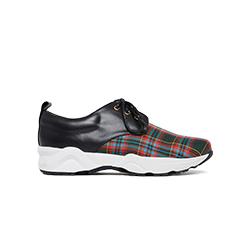 579-2 Tartan Plaid Sneakers