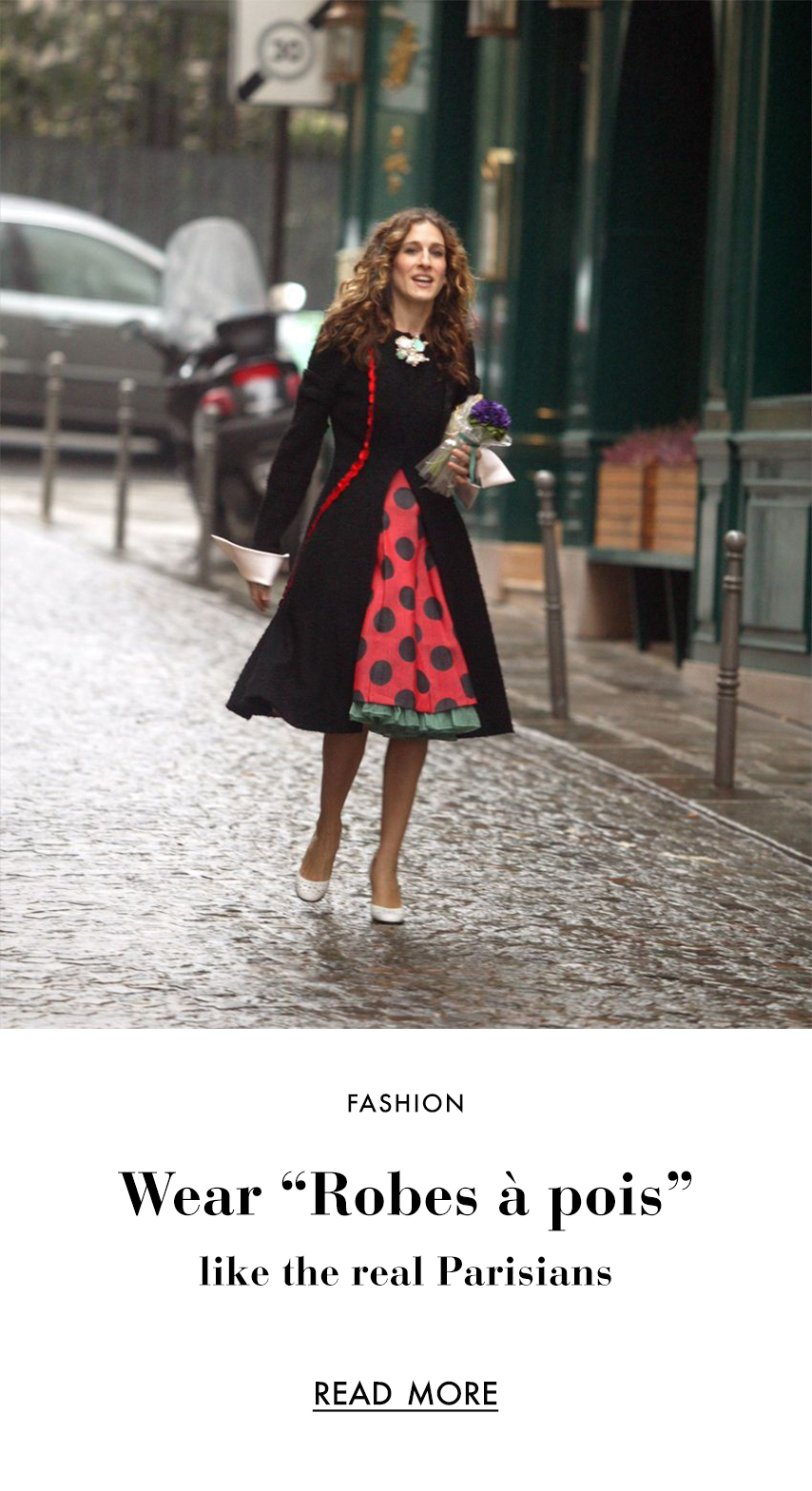"HOW TO WEAR ""ROBES A POIS"" LIKE THE REAL PARISIANS"