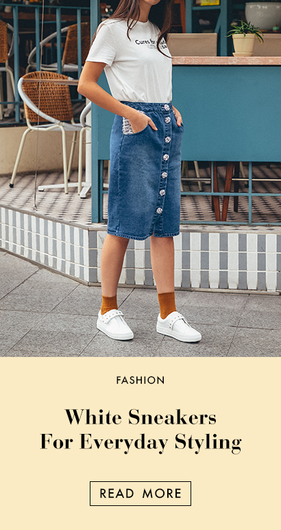 THE EDIT - White Sneakers For Everyday Styling