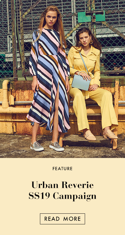 PAZZION Spring/Summer 2019 Campaign: Urban Reverie