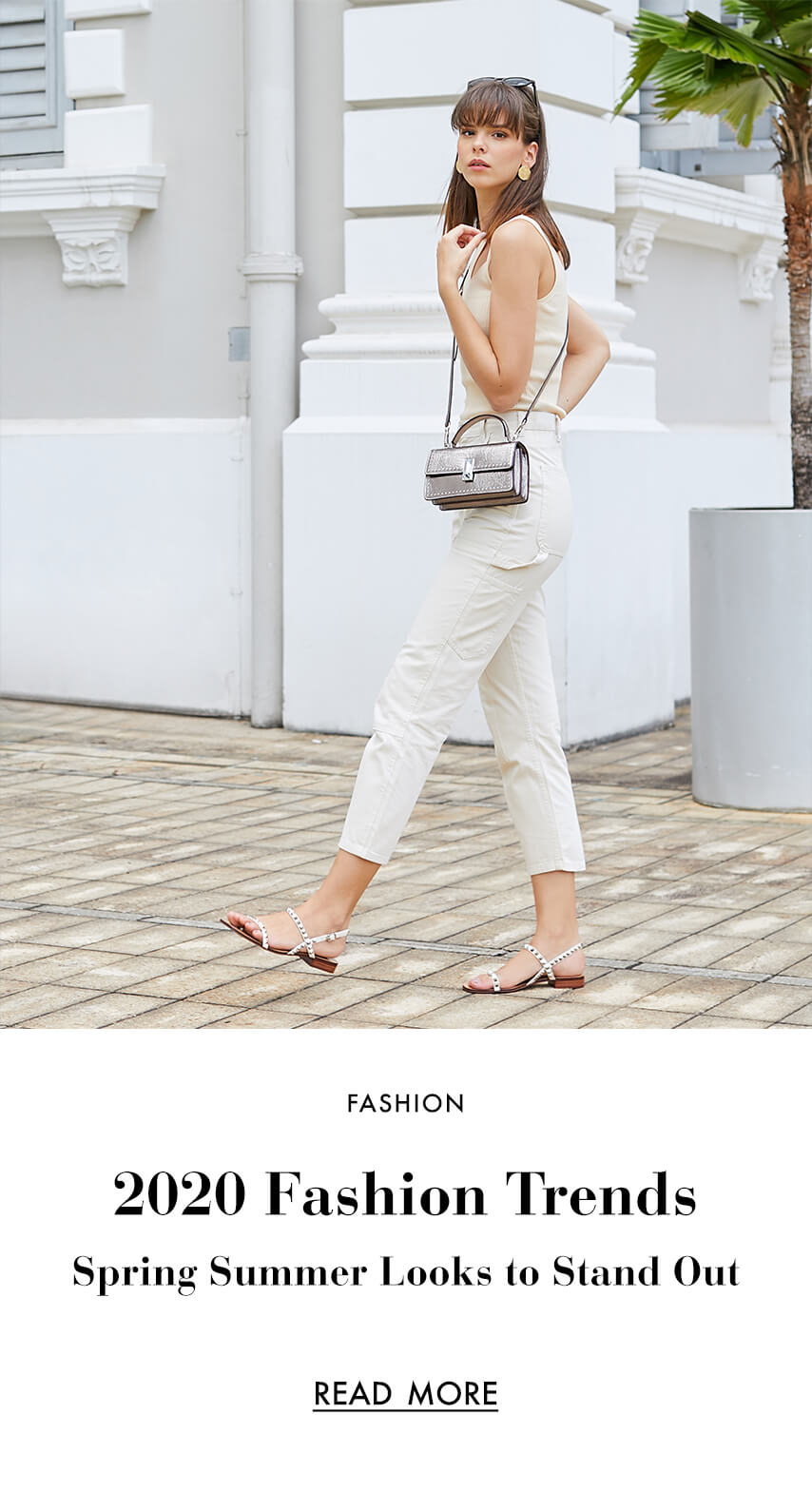 2020 Fashion Trends:    Spring Summer Looks  To Stand Out