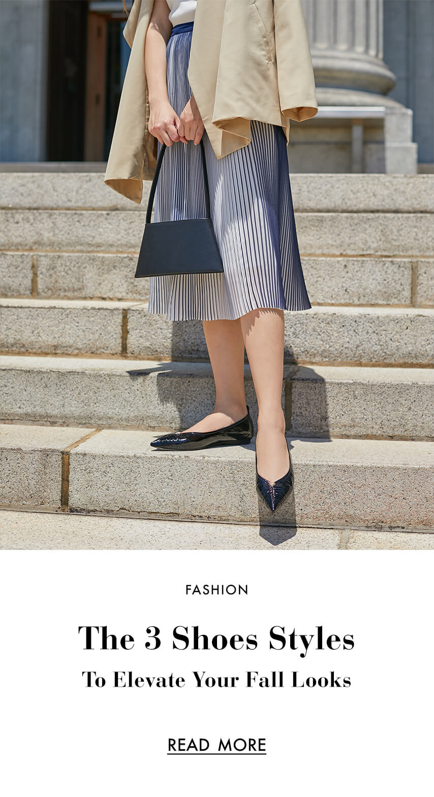 The 3 Shoes Styles To  Elevate Your Fall Looks