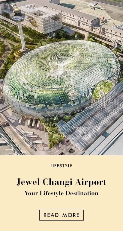 PAZZION EDIT - Jewel Changi Airport:  Your New Lifestyle Destination