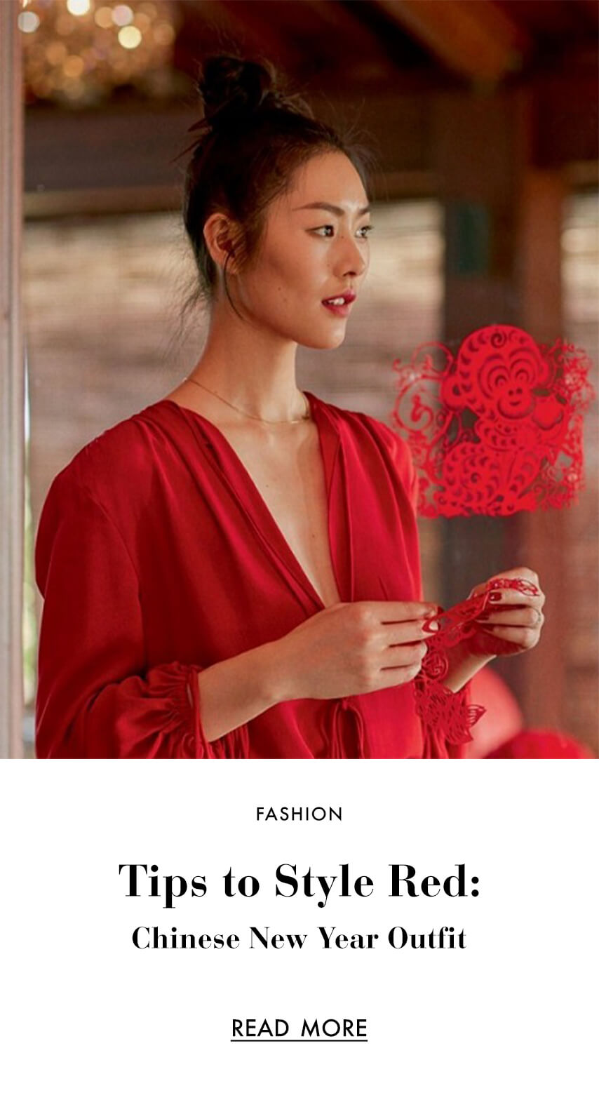 Tips to Style Red:  Chinese New Year Outfit  Ideas To Get Through Spring Festival