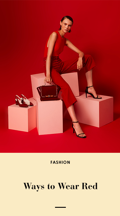 The Edit - Effortless Ways to to Wear Red