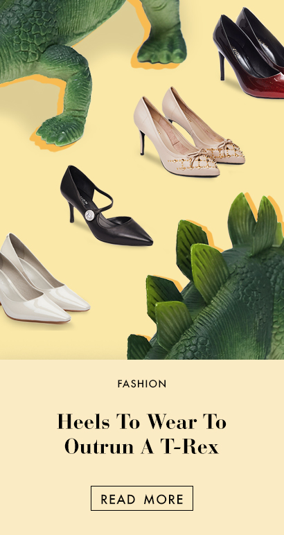 The Edit - 8 Heels To Wear So You Can Outrun A T-Rex In Jurassic World