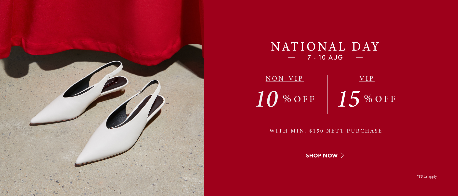 Pazzion National's Day Promotion 2020