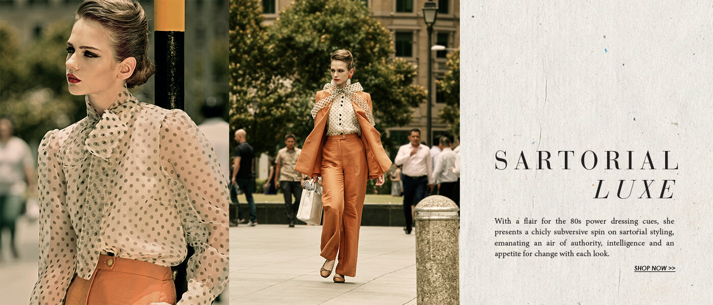 Pazzion Sartorial Luxe Campaign