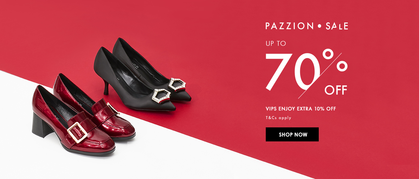 PAZZION Post CNY Sale Up to 70% Off