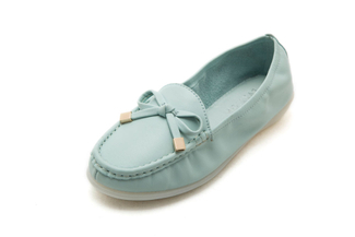 332-28 Light Blue Loafers