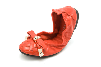 986-88 Crimson Foldable Ballerina