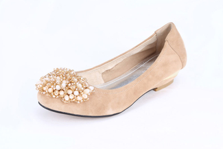 5297-8 Almond Lovely Heels