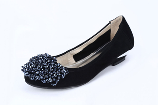 5297-8 Black Lovely Heels