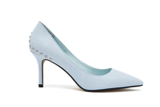 218-12 Powder Blue Ladylike Heel