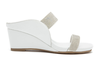 8008-6 White Wedge