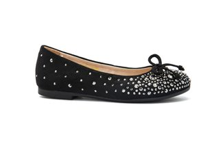 BB1620-6 KIDS BLACK FLATS
