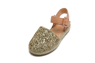 BB1582-7 Kids Gold Sandal