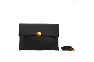 3690 Black Clutch Bag