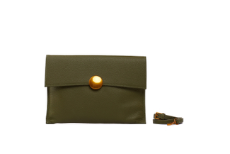 3690 Green Clutch Bag
