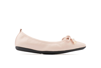 35210-66 Pink Pointy Ballet Flats