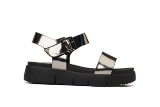 670-1 Pewter Comfy Sandals