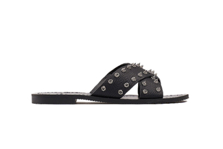 444-14 Black Casual Sandals