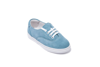 BB9520-5 KIDS BLUE SNEAKERS
