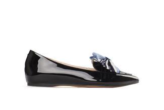 209-19 Black Sleek Loafers