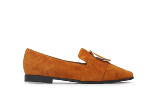 663-1 Camel Subtle Loafers