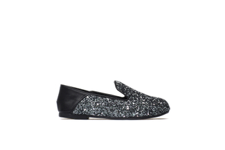 BB1620-02 Kids Black Loafers