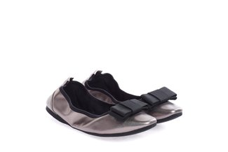 1318-65 Pewter Foldable Bow Flats