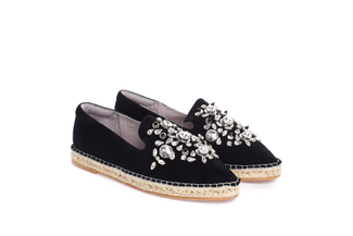 7106-1 Black Diamond Espadrilles