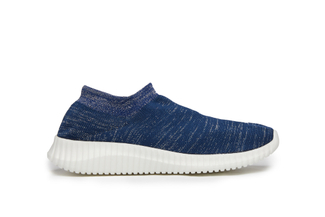 2018W-27 Blue Knit Sneakers