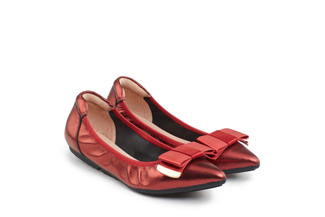 208-1A Deep Red Ballerina