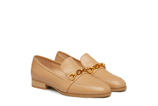2612-5A Almond Elegant Metal Trim Loafer