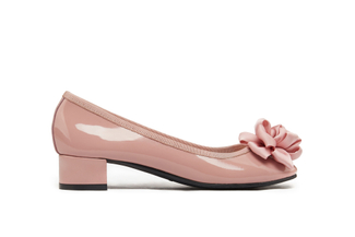 520-2 Deep Pink Pretty Bow Pumps