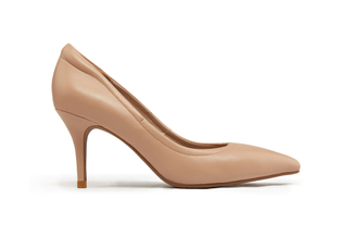 953-109 Nude Pointy Toe Pumps