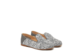 BB1620-02 Kids Grey Loafers