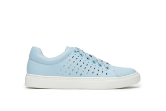 737-1 Blue Laser Cut Sneakers