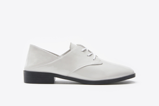 179-10A Light Grey Two-Way Lace-Up Oxfords