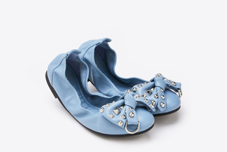 986-96 Blue Statement Foldable Flats