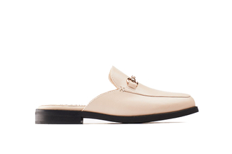 17008-15 Almond Slip-on Mules